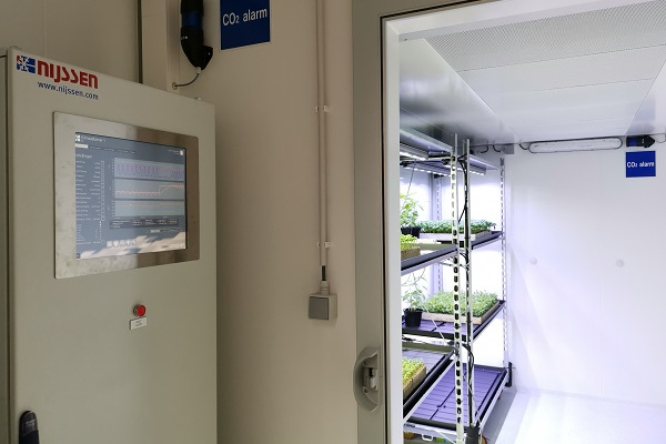 MyGrowthRooms - Mobile walk-in climate room for research - Nijssen Australia